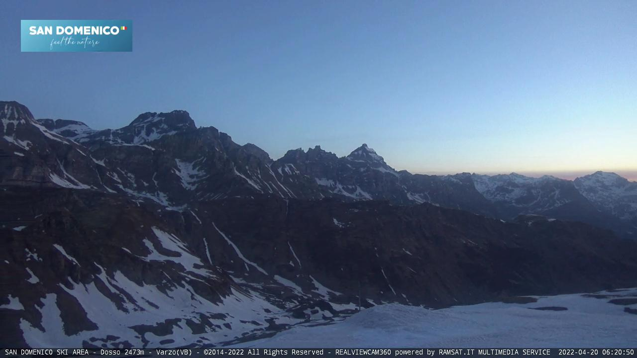 San Domenico webcam - Dosso